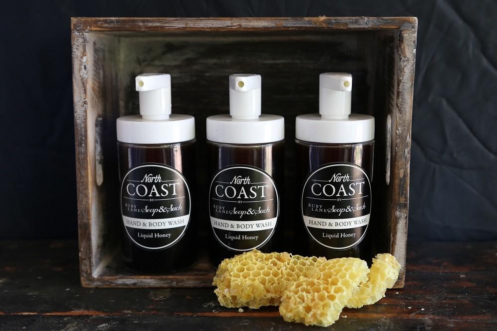 Hand & Body Wash Liquid Honey