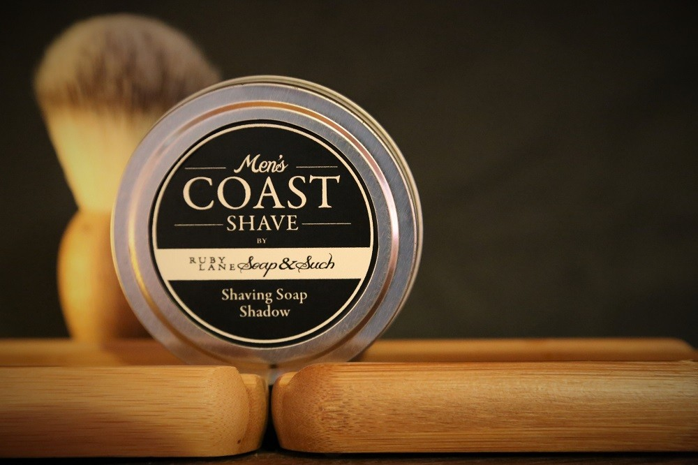 Mens Shaving Soap Shadow