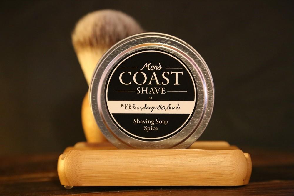 Mens Shaving Soap Spice