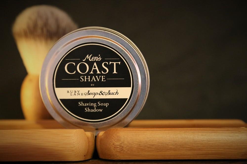 Mens Shaving Soap Shadow